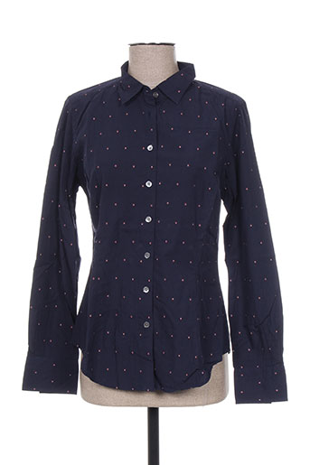 bellerose chemises femme de couleur bleu