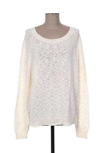 fine collection pulls femme de couleur blanc
