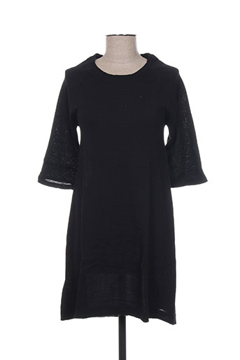 Robe pull noir FINE COLLECTION pour femme