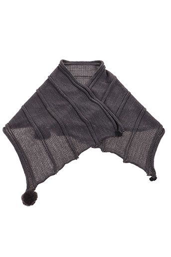 lea clement accessoires femme de couleur gris