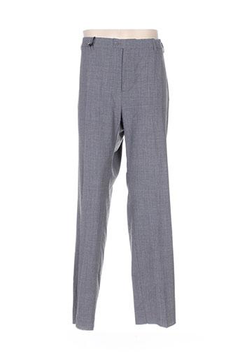 pierre d'arlanc pantalons homme de couleur gris