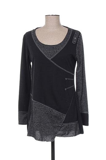 halogene tuniques femme de couleur noir