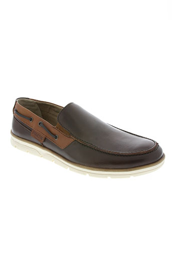 pratik chaussures femme de couleur marron