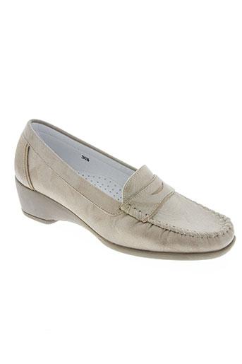 kim chaussures femme de couleur beige
