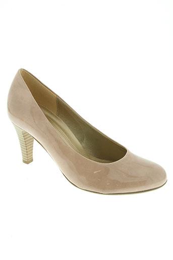 gabor chaussures femme de couleur beige