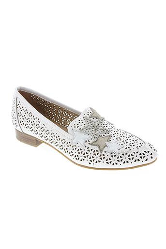 mam'zelle chaussures femme de couleur blanc
