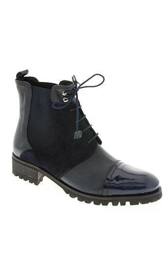 vitti love chaussures femme de couleur bleu