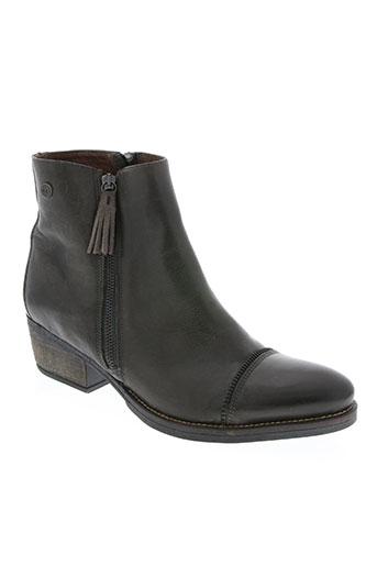 coque terra chaussures femme de couleur gris