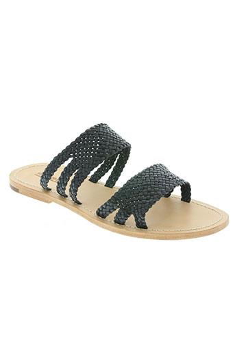 dragon chaussures femme de couleur bleu