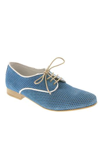 fee no men chaussures femme de couleur bleu