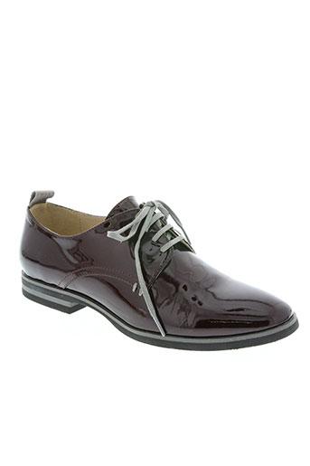 jb martin chaussures femme de couleur rouge