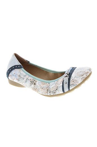 mam'zelle chaussures femme de couleur bleu