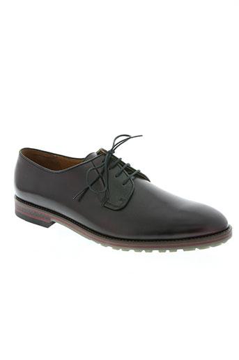 kost chaussures homme de couleur rouge