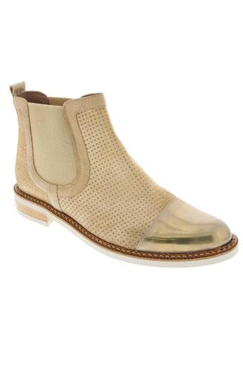 wonders chaussures femme de couleur beige