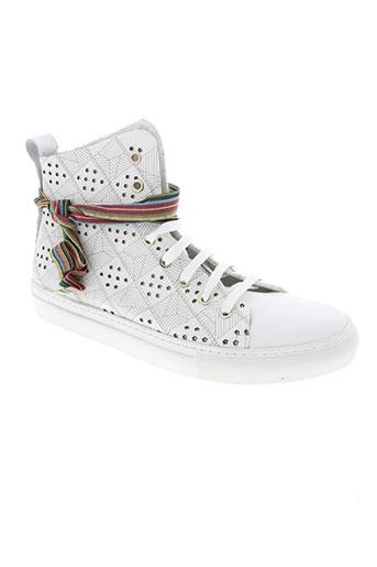 felmini chaussures homme de couleur blanc