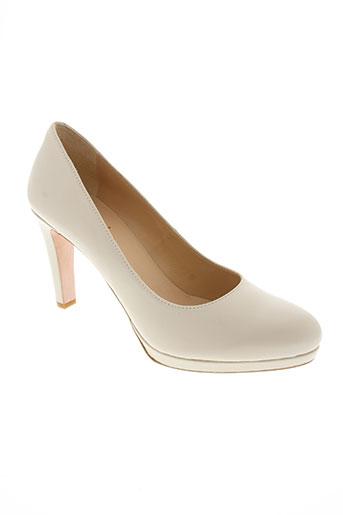 rosemetal chaussures femme de couleur beige