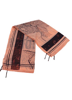 Foulard orange GARCIA pour fille