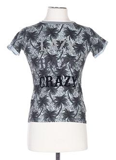 T-shirt manches courtes gris MOLO pour garçon