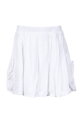 Jupe mi-longue blanc CARREMENT BEAU pour fille