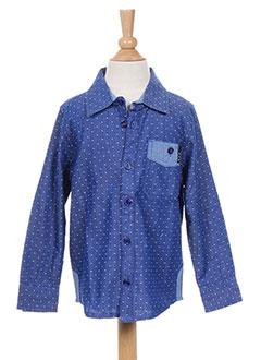 Chemise manches longues bleu MOLO pour garçon