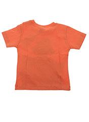 T-shirt manches courtes orange ABSORBA pour garçon seconde vue