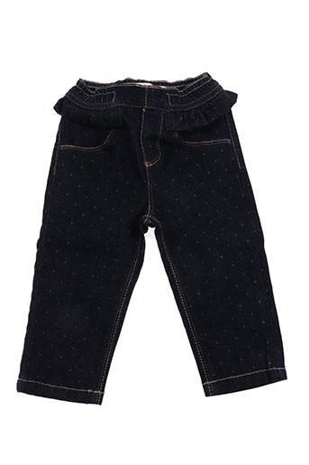 billieblush jeans fille de couleur bleu