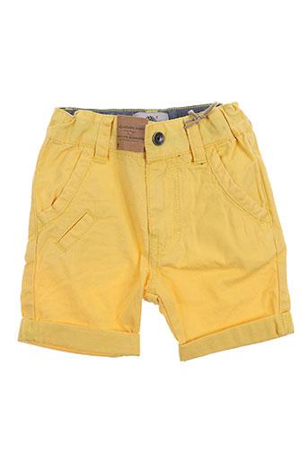 timberland shorts / bermudas garçon de couleur jaune