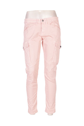 teddy smith pantalons femme de couleur rose