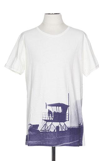 pull in t-shirts homme de couleur blanc