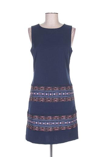 desigual robes femme de couleur bleu