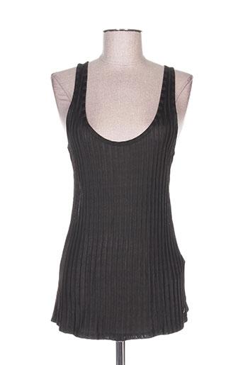 garcia t-shirts femme de couleur noir