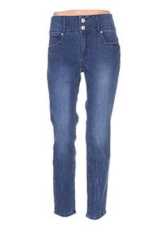 Jeans skinny bleu TIFFOSI pour femme