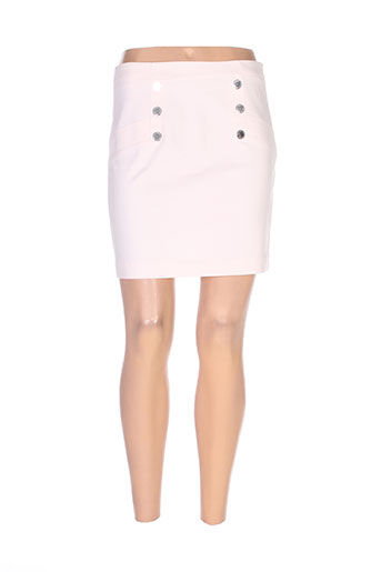 morgan jupes femme de couleur rose