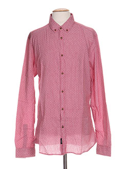 Chemise manches longues rouge TIFFOSI pour homme