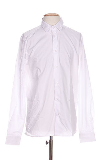 tailored EFFI_CHAR_1 originals chemises homme de couleur blanc