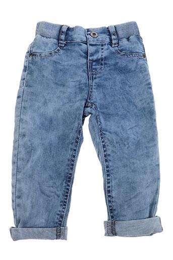 3 pommes jeans garçon de couleur bleu
