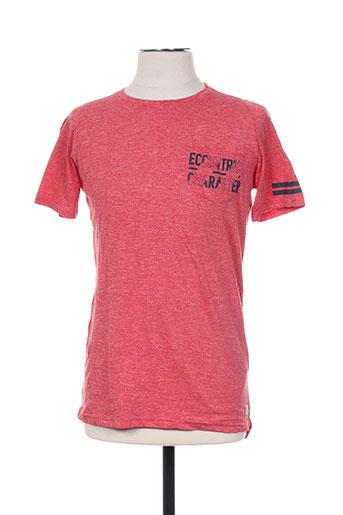 garcia t-shirts garçon de couleur rouge