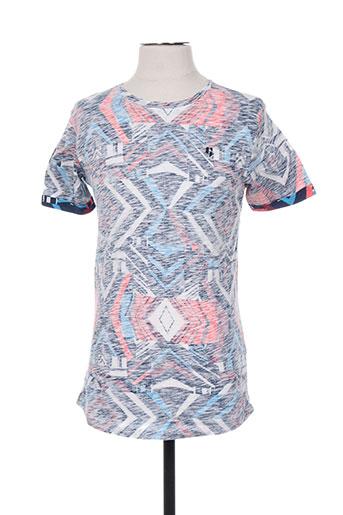 garcia t-shirts garçon de couleur bleu