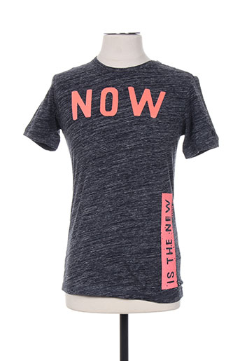 garcia t-shirts garçon de couleur gris
