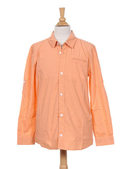 Chemise manches longues orange PEPE JEANS pour garçon