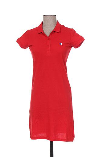 teddy smith robes fille de couleur rouge