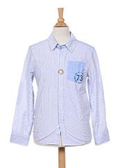 Chemise manches longues bleu PEPE JEANS pour garçon seconde vue