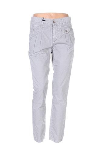 Pantalon casual gris CIPO & BAXX pour femme