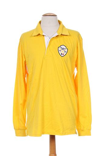 cordovan t-shirts homme de couleur jaune