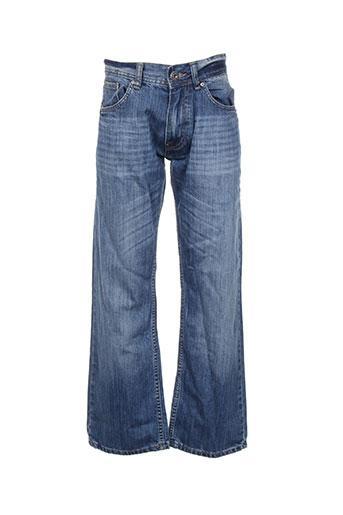 relay jeans pantacourts femme de couleur bleu