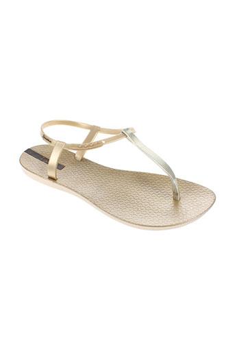ipanema chaussures femme de couleur jaune