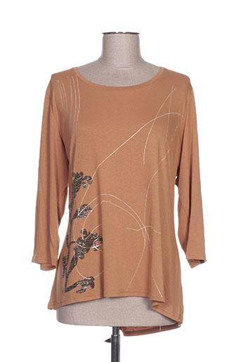 vango chemises femme de couleur marron