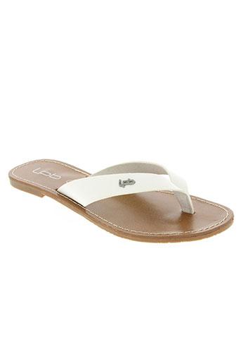 les p'tites bombes chaussures femme de couleur blanc