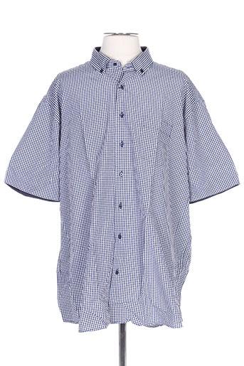 giorgio bellini chemises homme de couleur bleu
