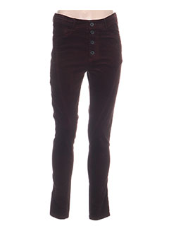 Pantalon casual rouge BLACK LABEL pour femme